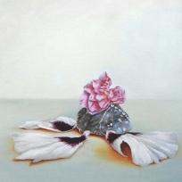 """""""Synchronicity"""" Oil on canvas 30 x 30 cm"""