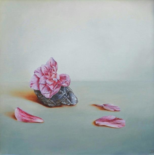 """""""Synergy"""" Oil on canvas 30 x 30 cm"""