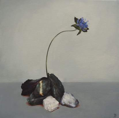 """Resilience"" Oil on canvas 30 x 30 cm"